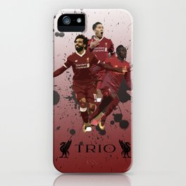 Liverpool trio attack iPhone Case