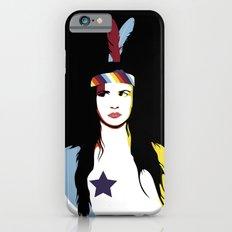 =Juliette Lewis///Black= Slim Case iPhone 6s