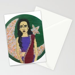 """""""Pakistan"""" Embroidery Stationery Cards"""
