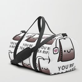 You're Tea-Riffic Duffle Bag