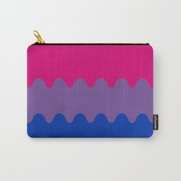 Wavy Bisexual Flag Carry-All Pouch