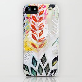"""""""Holocene"""" Original Painting by Flora Bowley iPhone Case"""