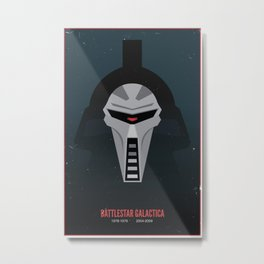 Battlestar Galactica - Old and New Metal Print
