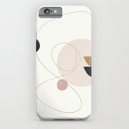 Abstract Minimal Art 31 iPhone Case