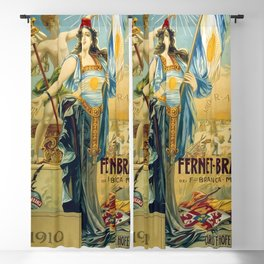 1910 Fernet Branca Liqueur Aperitif Advertisement Blackout Curtain