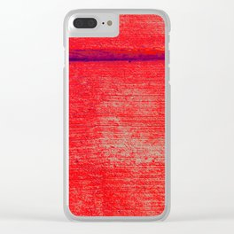 up to it Clear iPhone Case