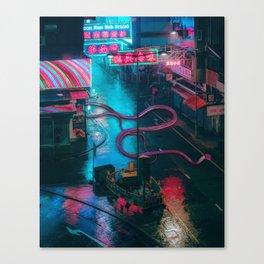 Snake City Canvas Print