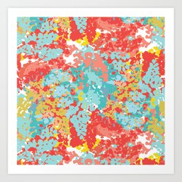 Summer Cammo Art Print
