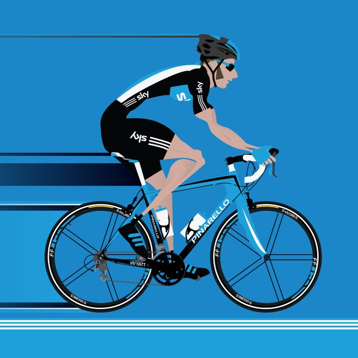 Bradley Wiggins Team Sky Comforters