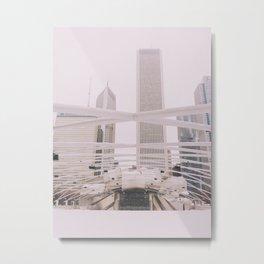 Jay Pritzker Pavillion Metal Print