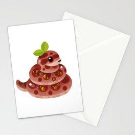 Chocolate Reptiles - dark Stationery Cards