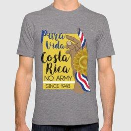 Costa Rica PURA VIDA T-shirt