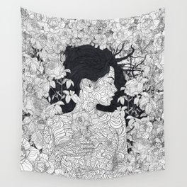 Love and Beauty Wall Tapestry