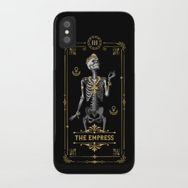 The Empress III Tarot Card iPhone Case