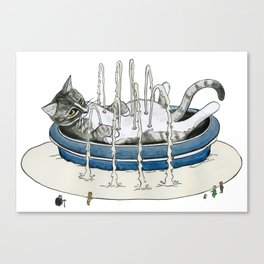 Charlie Fountain Canvas Print