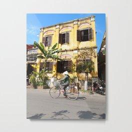 The Yellow House, Hoi An, Vietnam. Metal Print