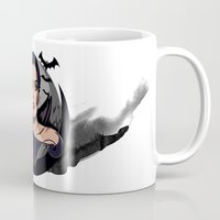 vampire diaries Mugs featuring Vampire by Yasin IŞIK