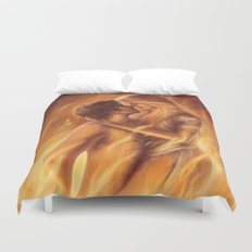 True Love In Flagranti Duvet Cover