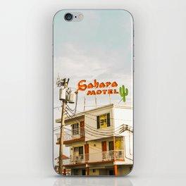 Sahara Motel iPhone Skin