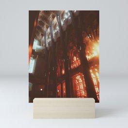 La Sagrada Familia, Barcelona, Spain Mini Art Print