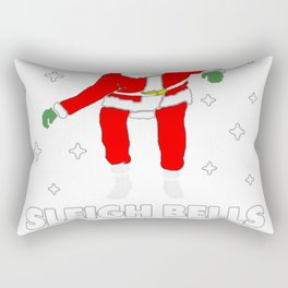 I KNOW WHEN THOSE SLEIGH BELLS RING T-SHIRT Rectangular Pillow