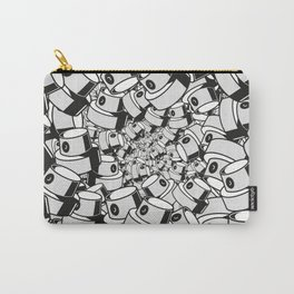 fat cap infinity flow style square ver 0.1. Carry-All Pouch