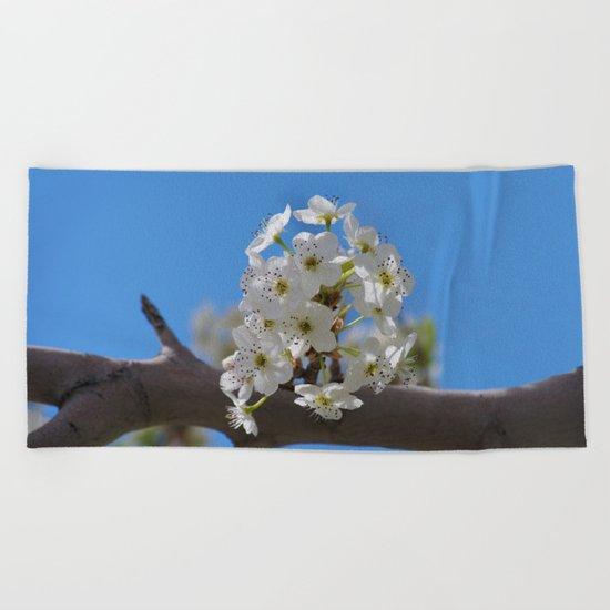 Spring Blossoms - IV Beach Towel