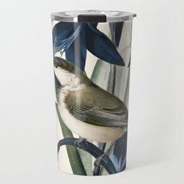 Little Bird and Flowers II Travel Mug