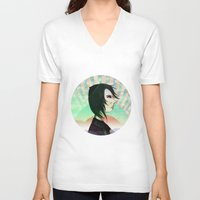 circus V-neck T-shirts featuring Circus by IOSQ