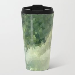 The green background .Storm . Travel Mug
