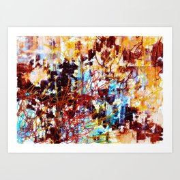 Delroy (West) Art Print
