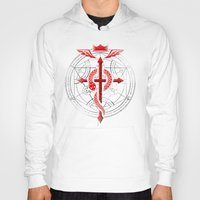 fullmetal Hoodies featuring Full of Alchemy - Fullmetal alchemist by R-evolution GFX