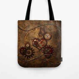 Steampunk, noble design Tote Bag