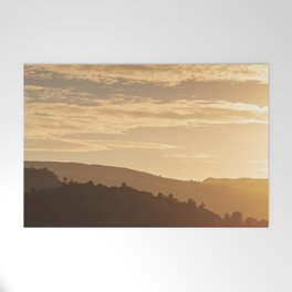 Hills at sunset in the Lake District, England Welcome Mat