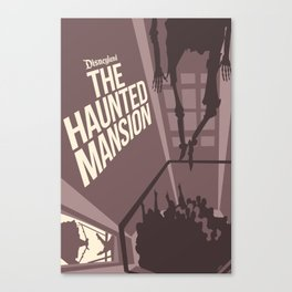 Haunted Mansion Version 2 Canvas Print