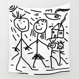 Familie Strichmann Wall Tapestry