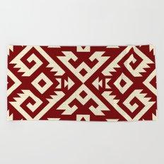 Navajo pattern Beach Towel