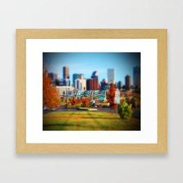 Speer Blvd Framed Art Print