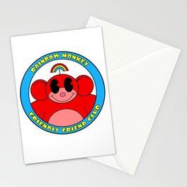 Rainbow Monkey Friendly Friend Club! Stationery Cards