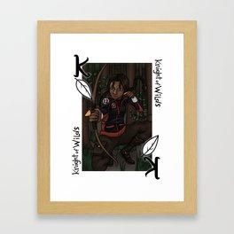 Knight of Wilds Framed Art Print