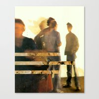 blur Canvas Prints featuring Blur by Peter Campbell