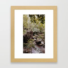 the first time in a long time. Framed Art Print