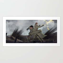 Fantastic Beasts - No Man's Land Art Print