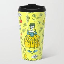Queen of the Garden Metal Travel Mug