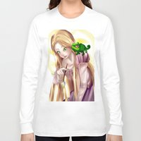 tangled Long Sleeve T-shirts featuring Tangled !!  by Midnight Tardis