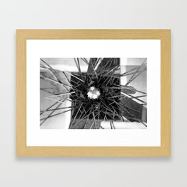 """""""Fresh activity is the only means of overcoming adversity."""" – Johann Wolfgang von Goethe Framed Art Print"""