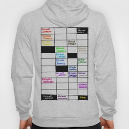 Rainah Jamean Crossword Puzzle Hoody