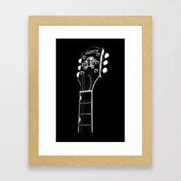 Gretsch Head - Headstock - Rockabilly - Rock Star - Music Framed Art Print