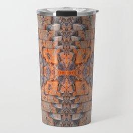 Petrified Wood In Focus Travel Mug