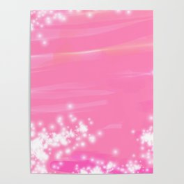 Pink Sparkles Poster